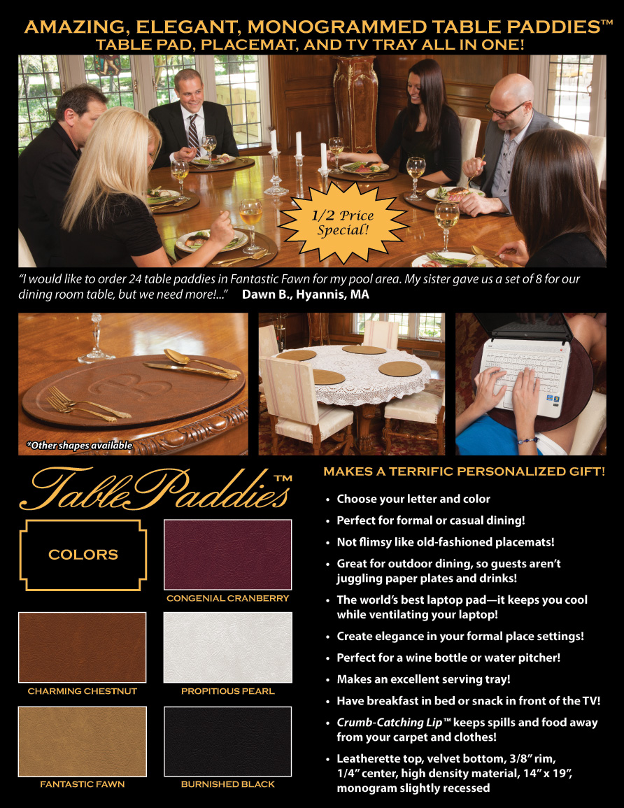 Custom Table Pads Fabulous Pad Store A Division Of Touch Up Artistry With One Piece Fan